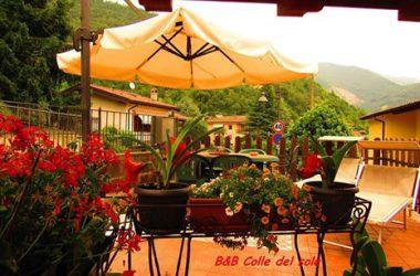 Terrazzo B&B Colle del sole Vigano San Martino