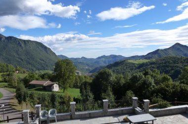 Panorama Agriturismo Trapletti - Serina